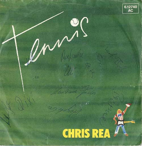 Albumcover Chris Rea - Tennis / If You Really Love Me