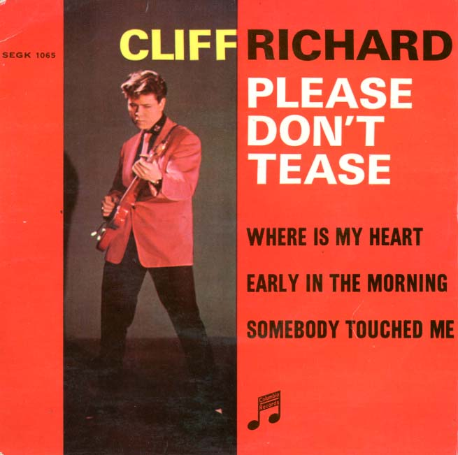 Albumcover Cliff Richard - Please Dont Tease (EP)