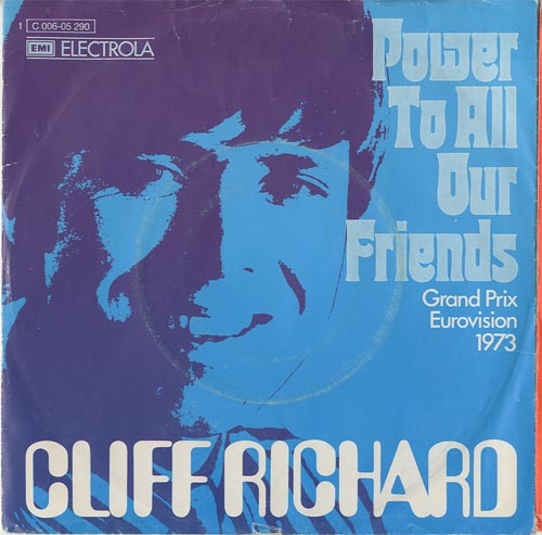 Albumcover Cliff Richard - Power To All Our Friends / Come Back Billie Joe