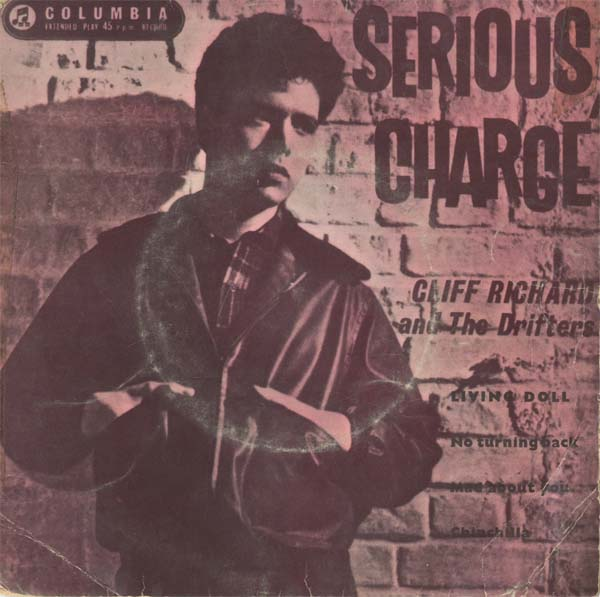 Albumcover Cliff Richard - Serious Charge (EP)