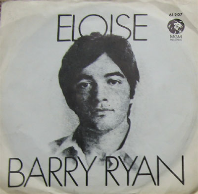 Albumcover Barry Ryan - Eloise / Love I Almost Found You