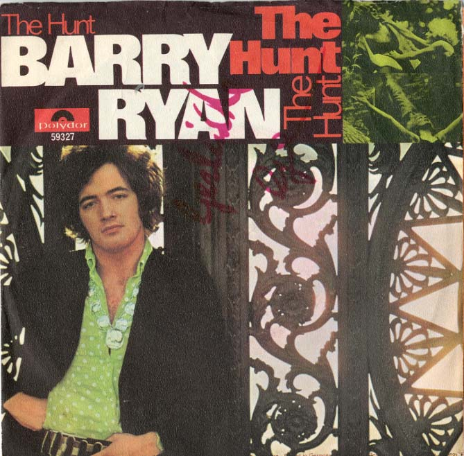 Albumcover Barry Ryan - The Hunt / No Living Without Her Love