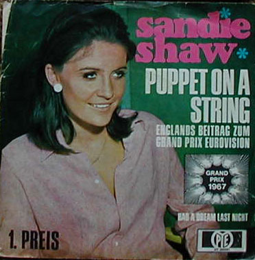 Albumcover Sandie Shaw - Puppet On A String / Had A Dream Last Night