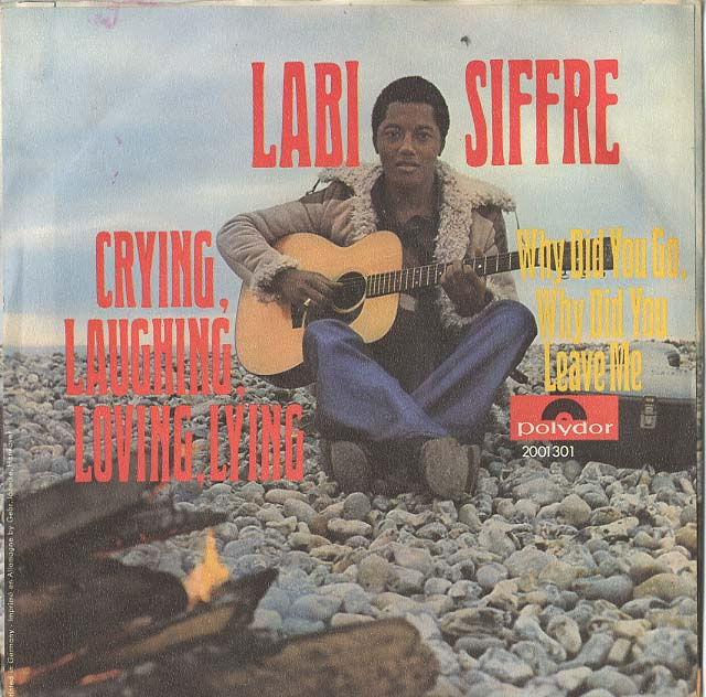 Albumcover Labi Siffre - Crying Laughing Loving Lying / Why Did You Go Why Did You Leave Me