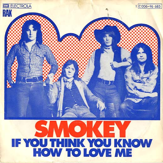 Albumcover Smokie - If You Think You Know How To Love Me /´Tis Me