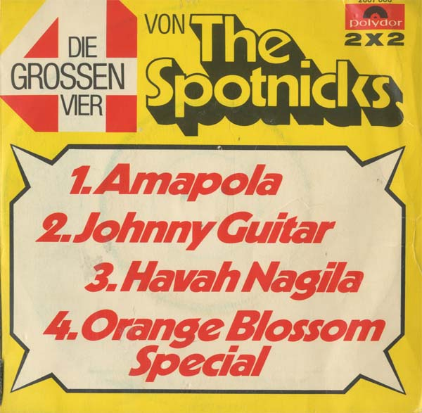 Albumcover The Spotnicks - Die grossen Vier von The Spotniks