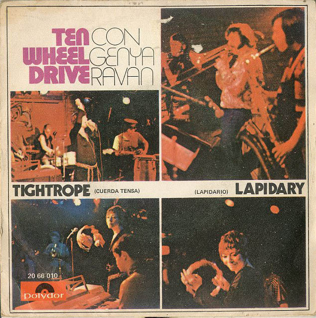 Albumcover Ten Wheel Drive - Tightrope  / Lapidary