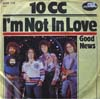 Cover: 10CC - I´m Not In Love / Good News