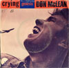 Cover: Don McLean - Don McLean / Crying / Genesis (In the Beginning)