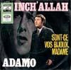 Cover: Adamo - Adamo / Inch Allah / Sont-ce vos bijoux Madame