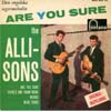 Cover: The Allisons - The Allisons / Are You Sure / There´s One Thing More / Words / Blue Tears