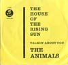 Cover: The Animals - The House Of The Rising Sun / Talkin About You
