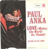 Cover: Paul Anka - Love Makes The World Go Round / Crying In The Wind