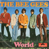 Cover: The Bee Gees - The Bee Gees / World / Sir Geoffrey Saved The World