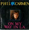 Cover: Phil Carmen - Phil Carmen / On My Way In L.A. / Song for Raquel