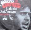 Cover: Adriano Celentano - Adriano Celentano / Azzurro / La Lotta Dell Amore