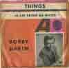 Cover: Bobby Darin - Bobby Darin / Things / Jailer Bring Me Water