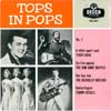 Cover: DECCA UK Sampler - Tops In Pops (EP) mit Terry Dene, The Bob Cort Skiffle, The Beverley Sisters sowie Tommy Steele