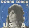 Cover: Donna Fargo - Donna Fargo / US of A / Dont Be Angry