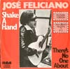 Cover: Feliciano, Jose - Shake A Hand (Que Sera) / Thre´s No One About