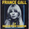 Cover: France Gall - France Gall / La declaration d´amour / Si l´on pouvait vraiment parler