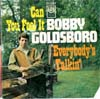 Cover: Bobby Goldsboro - Can You Feel It / Everybody´s Talking