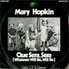 Cover: Hopkin - Que Sera  Sera (Whatever Will Be Will Be) / Fields Of St. Etienne