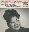 Cover: Mahalia Jackson - Mahalia Jackson / Negro Spirituals Vol. 2