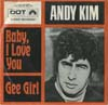 Cover: Kim, Andy - Baby I Love You /Gee Girl