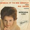 Cover: Brenda Lee - Brenda Lee / Break It To Me gently / So Deep
