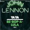 Cover: John Lennon und Yoko Ono (Plastic Ono Band) - John Lennon und Yoko Ono (Plastic Ono Band) / Ya Ya / Be-Bop-A-Lula