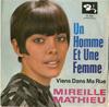 Cover: Mireille Mathieu - Mireille Mathieu / Un Homme Et Une Femme / Viens Dans Ma Rue