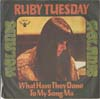 Cover: Melanie - Ruby Tuesday / What Have They Done To My Song