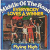 Cover: Middle Of The Road - Everybody Loves A Winner / Flying High