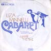 Cover: Minnelli, Liza - Cabaret / Maybe This Time