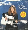 Cover: Nicole - La Paix Sur Terre/ Thank you, Merci, Danke