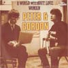 Cover: Peter & Gordon - A World Without Love / Woman