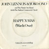 Cover: John Lennon und Yoko Ono (Plastic Ono Band) - Happy X-MAS  (War Is Over) / Listen The Snow Is Falling