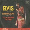 Cover: Elvis Presley - Burning Love / Its A Matter of Time