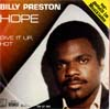 Cover: Preston, Billy - Hope / Give It Up Hot