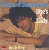 Cover: Sanderson, Richard - She´s A Lady / Junie Bug