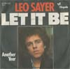 Cover: Sayer, Leo - Let It Be / Another Year