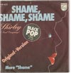 Cover: Shirley and  Company - Shame, Shame, Shame / More Shame