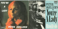 Cover: Peter Skellern - Peter Skellern / Youre A Lady / Manifesto  (NUR COVER, 2x )