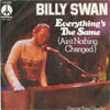 Cover: Billy Swan - Billy Swan / Everythings The Same (Aint Nothing New)/ Overnite Thing (Usually)