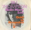 Cover: Bill Thompson - Bill Thompson / Hello Mary Lou / Gold in Accapulco