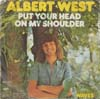 Cover: West, Albert - Put Your Head On My Shoulder / Waves