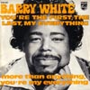 Cover: White, Barry - You´re The First, The Last, My Everything / More Than Anything You´re My Everything