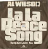 Cover: Al Wilson - Al Wilson / La La Peace Song / Keep On Lovin You