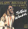 Cover: Stevie Wonder - Stevie Wonder / Happy Birthday (5:33) / Happy Birthday (Sing along/5:33)